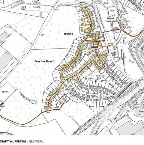 Wuppertal Karte Stadtteile.Breidbandausbau Luntenbeck Verband Wohneigentum E V