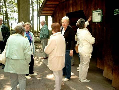 Schutzhütte im Steinwald