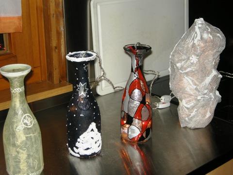 Basteln Beleuchteter Flaschen Am 22 10 09 Verband Wohneigentum E V