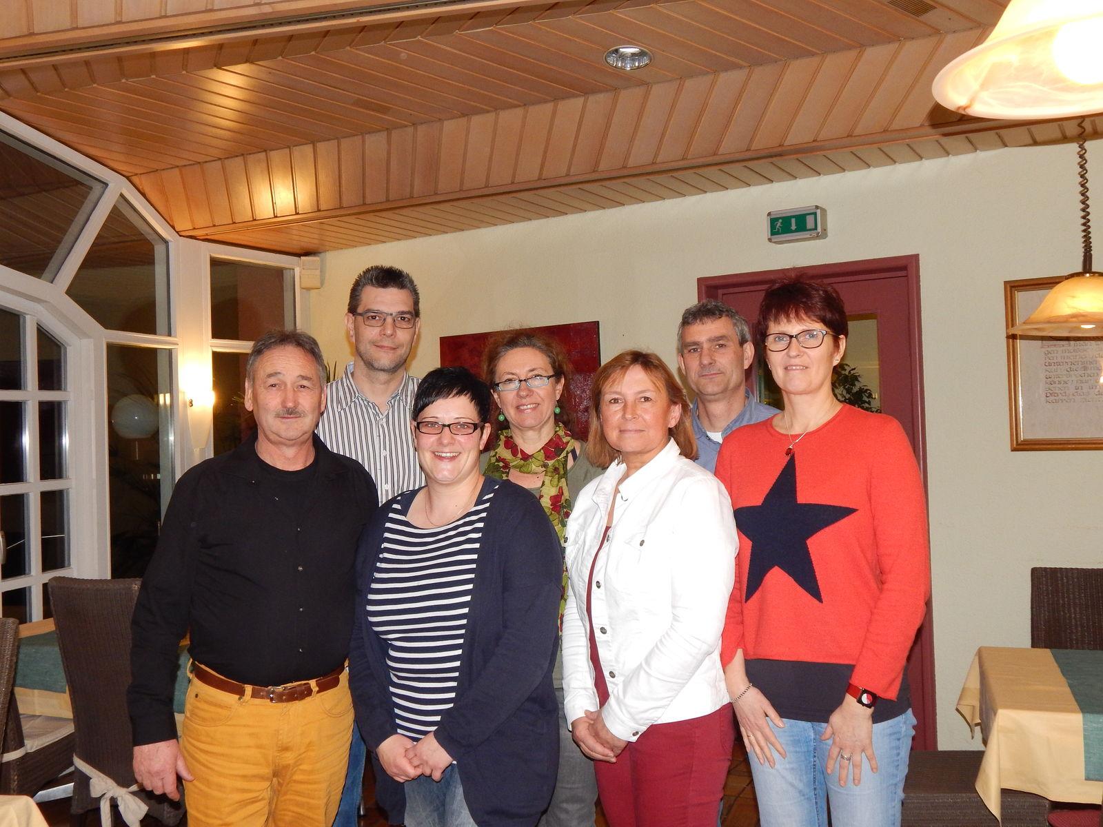 Vorstandschaft Rheinau-West-Brufert