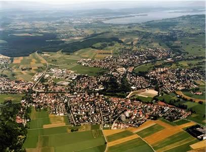 Luftaufnahme Rielasingen - Worblingen
