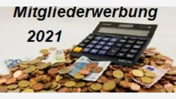 Themenbild: Mitgliederwerbung 2021
