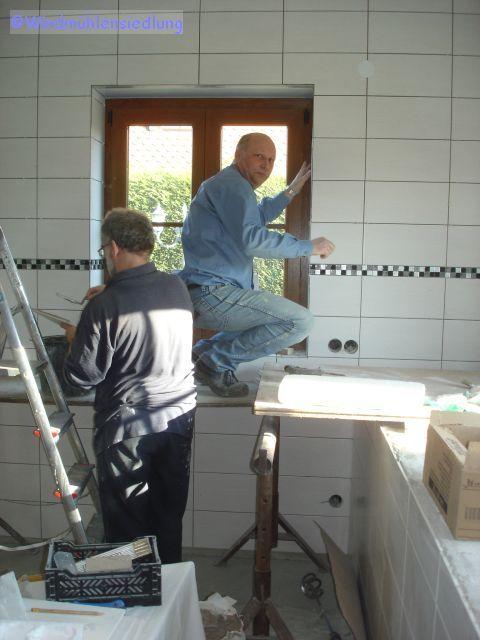 Frank und Jörg in der Küche