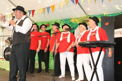 Kolonie AS Auftritt Straßenfest 2017
