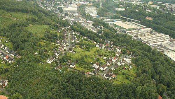 Themenbild: Luftaufnahme aus dem Jahre 2012