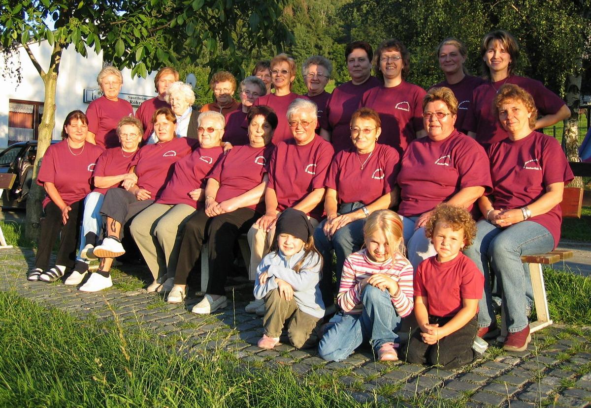 Die Frauengruppe zum Grillfest (2005)