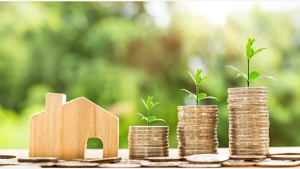 Themenbild: Haus Geld Wachstum
