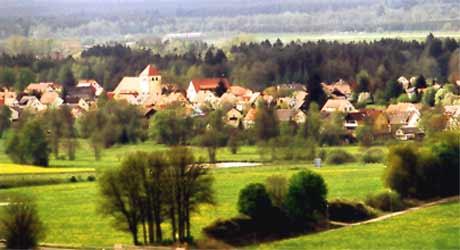 Blick auf Sorghof