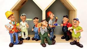 Handwerker im Haus!