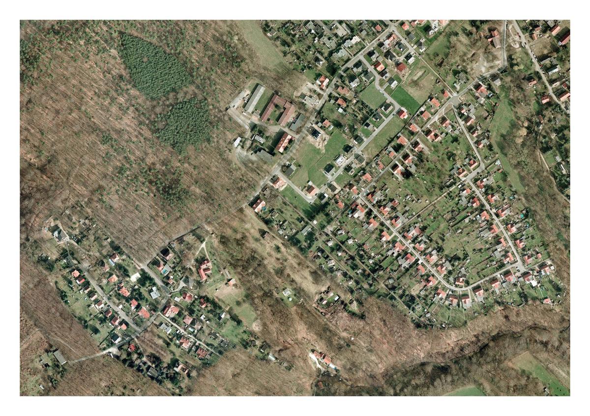 Luftbild Siedlung