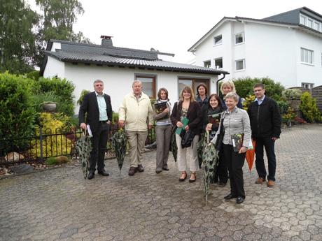 Gruppenbild der Bewertungskommission